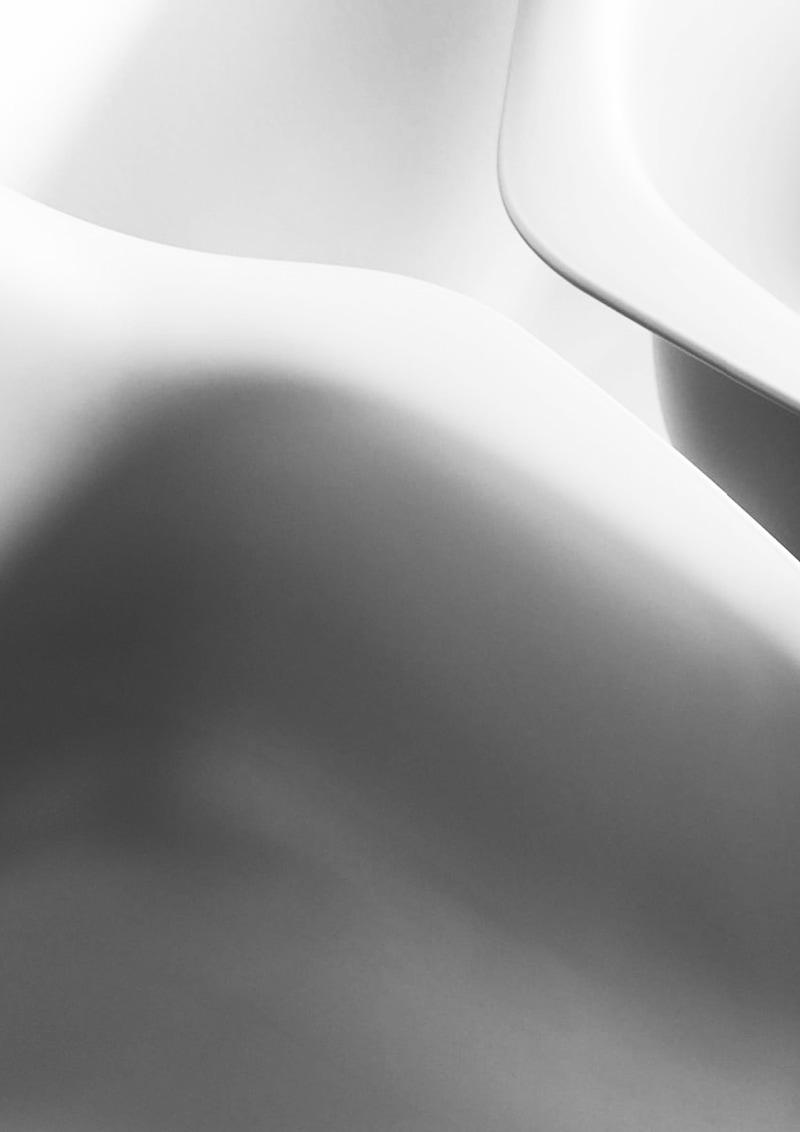 Detailaufnahme Eames Stühle Studio für Gestaltung Pforzheim