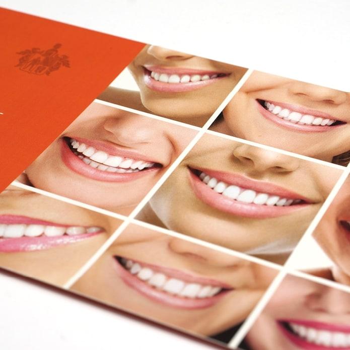 Flyergestaltung für Bleaching Zahnarzt Pforzheim
