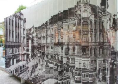 3D Installation am Leopoldplatz Pforzheim