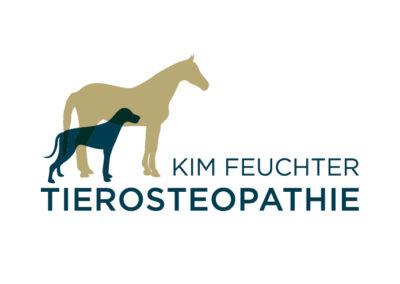 Logo mit Pferd und Hund für Tierosteopathie Praxis Pforzheim